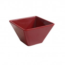 RAMEQUIN MELAMINA ROJO 8x8x4,5 Cms. Pack 6 Uds.