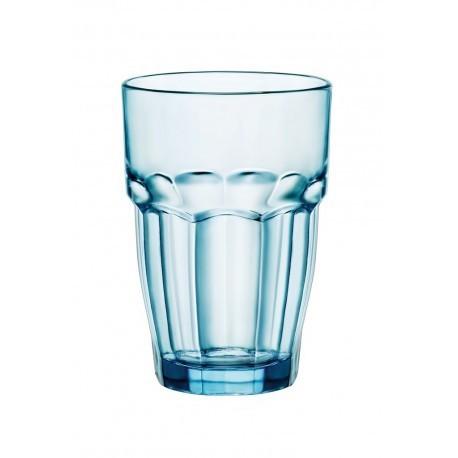 Vaso de Agua Rock Alto Apil Azul 37 Cls. Caja 6 Uds.
