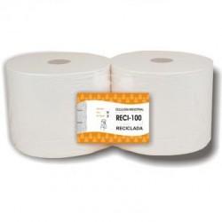 BOBINA RECICLADA PRECORTADA 4.5 Kgs. 2 Capas Pack 2 Uds.