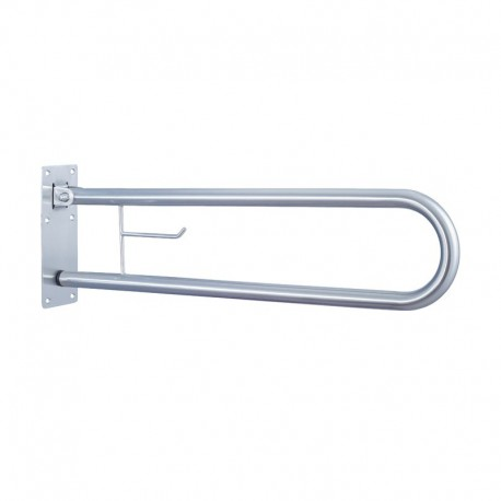 BARRA ABATIBLE 840mm. INOX SATINADA