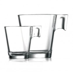 Taza Aroma Transparente 22 Cls. Caja 12 Uds Arcoroc