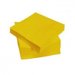 SERVILLETA 20X20 LIMON Pack 2x40 Uds.