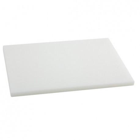 TABLA CORTE POLIETILENO 30x25x2 BLANCA