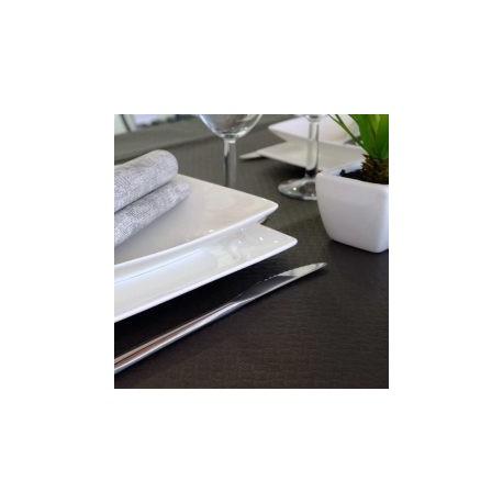 MANTEL 100x100 40 Grs. NEGRO Caja 400 Uds.
