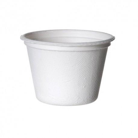 SALSERA CAÑA DE AZUCAR BLANCO 120 ml. Pack 50 Uds