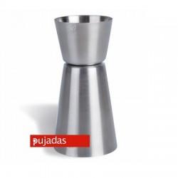 DOSIFICADOR MEDIDOR DE LICORES JIGGER 25-50 ML.