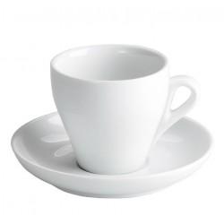 TAZA CAFE CONICA CON PLATO 7.5 Cls. Caja 12 Uds.