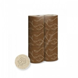 HIGIENICO DOMESTICO ECO NATURAL 18,7 Mts. Pack 12x6 Uds.