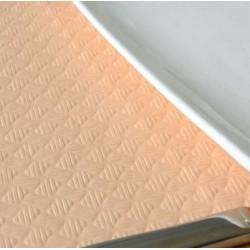 MANTEL 100*100 40 gr. CREMA LISO Caja 400 Uds.