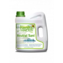 NATURELLE NEUTRAL SANI (Multisuperficies Higienizantel Ecológicol) Caja 4 Garr. 4 Kgs.
