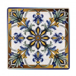 BIZANCIO PLATO 26,5x26,5 Cms. STONEWARE Caja 6 Uds.
