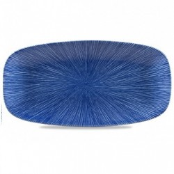 AGANO BLUE FUENTE RECTANGULAR 35,5x18,9 Cms. Caja 6 Uds.