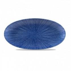 AGANO BLUE FUENTE OVAL 29,9x15 Cms. Caja 12 Uds.