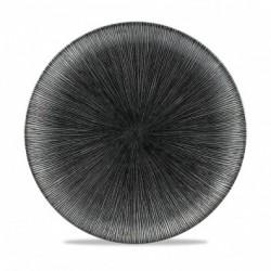 AGANO BLACK PLATO COUPE 26 Cms. Caja 12 Uds.