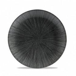 AGANO BLACK PLATO COUPE 21,7 Cms. Caja 12 Uds.