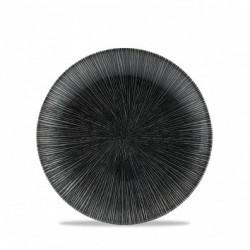 AGANO BLACK PLATO COUPE 16,5 Cms. Caja 12 Uds.