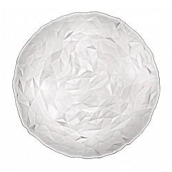 PLATO CRISTAL DIAMOND TRANSPARENTE 33 Cms. Caja 12 Uds.